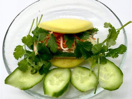 Vegetarian Banh Mi Inspired Lotus Bun Recipe