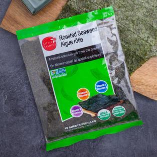 Organic Roasted Seaweed (10 Shee)