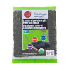 Organic Roasted Seaweed (10 Sheet)