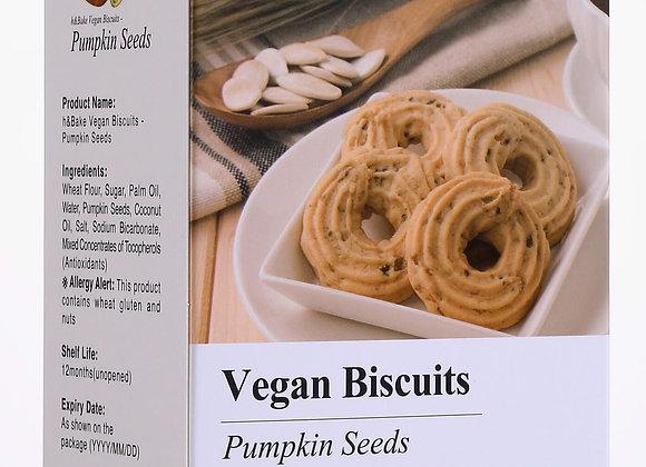 Pumpkin Seed Vegan Biscuit