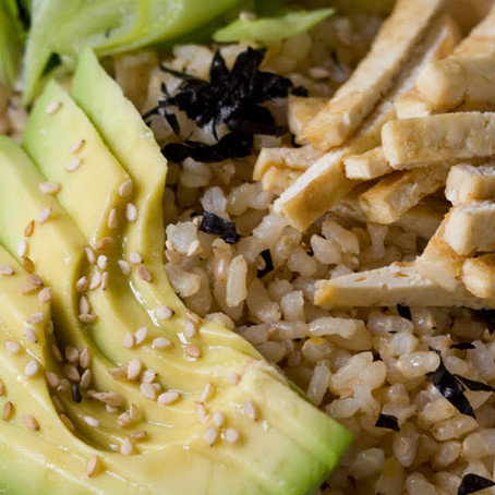 BROWN RICE SEAWEED BOWL