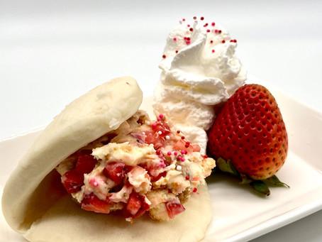 Strawberry Cheesecake Lotus Bun Recipe