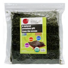 Organic Roasted Seaweed (50 Sheets)