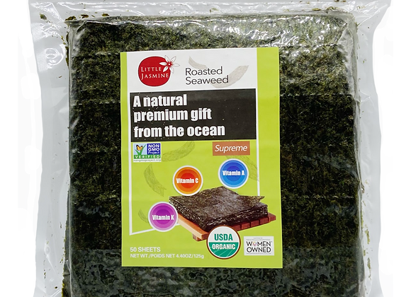 Roasted Seaweed - 100 Half-Cut Sheets