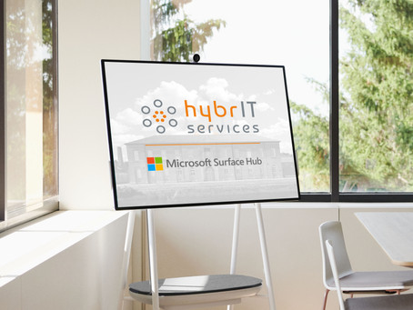 HybrIT are now a Microsoft Surface Hub Partner