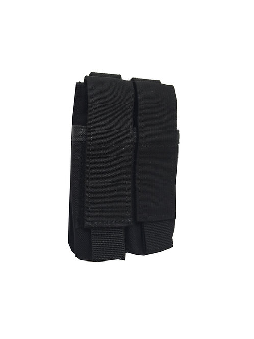 MGM92X1-BK MGM92X1- Double Pistol Mach Pouch Belt or MOLLE Mount