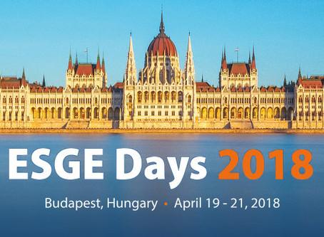 European Society of Gastrointestinal Endoscopy - ESGE Days 2018.