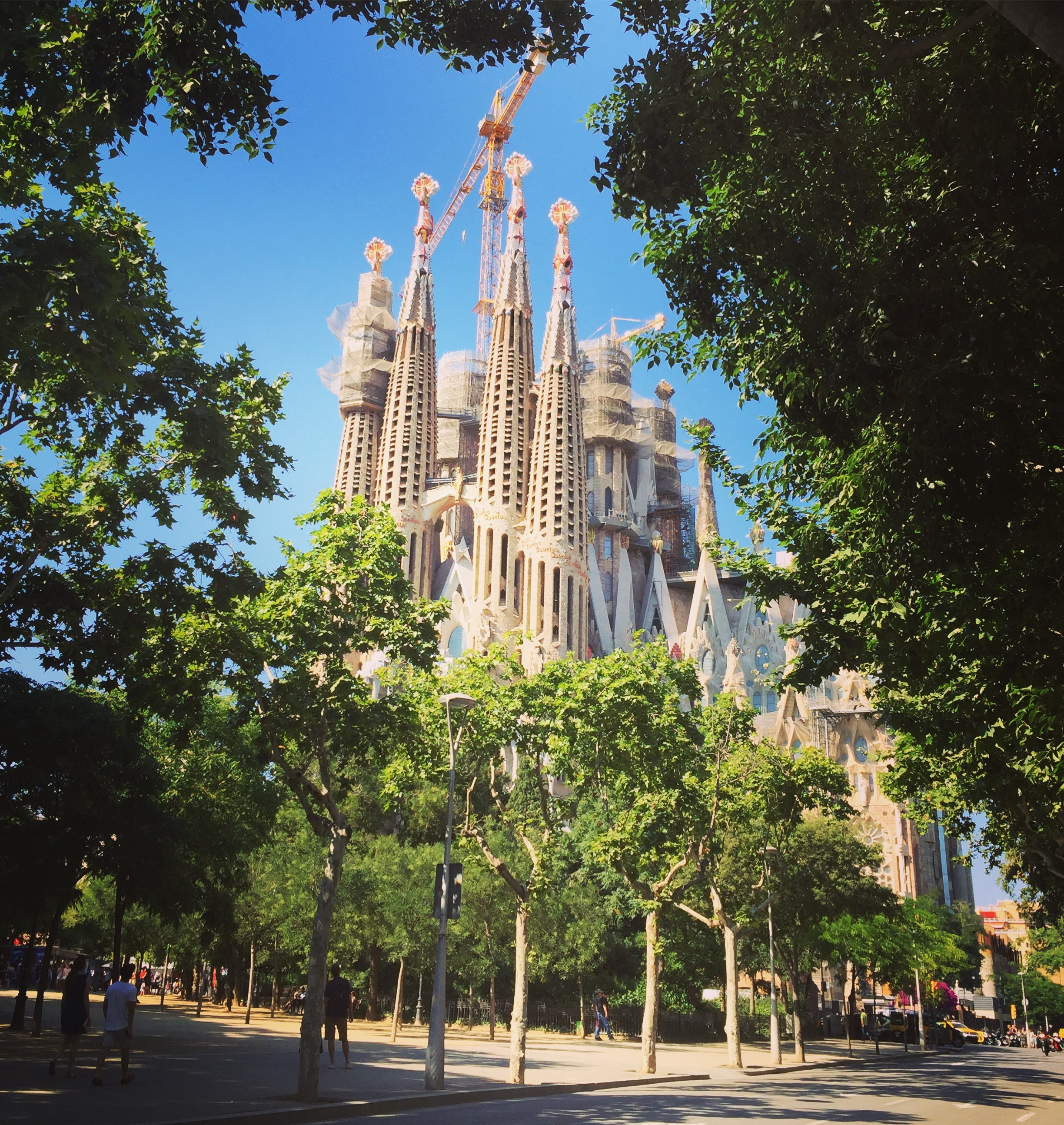 La Sagrada Familia - Barcelona, Spain