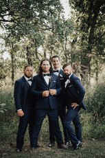 Aly and Jordan_Wedding_Couple and Party-