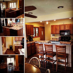 Our latest kitchen remodel. We worked along side the customer to achieve their dreams