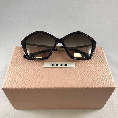 Miu Miu Pentagon Sunglasses