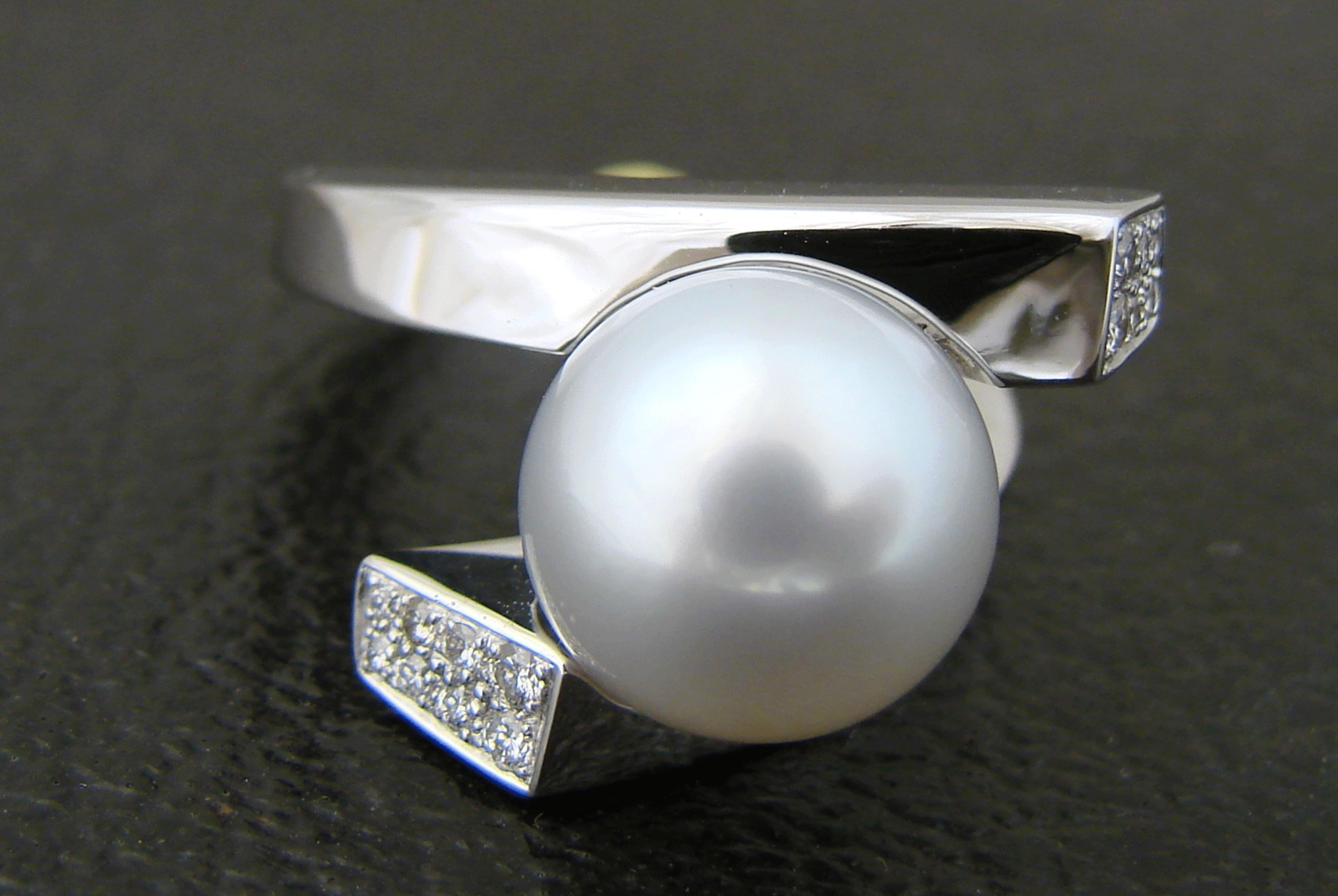 Bague - Perle d'Australie