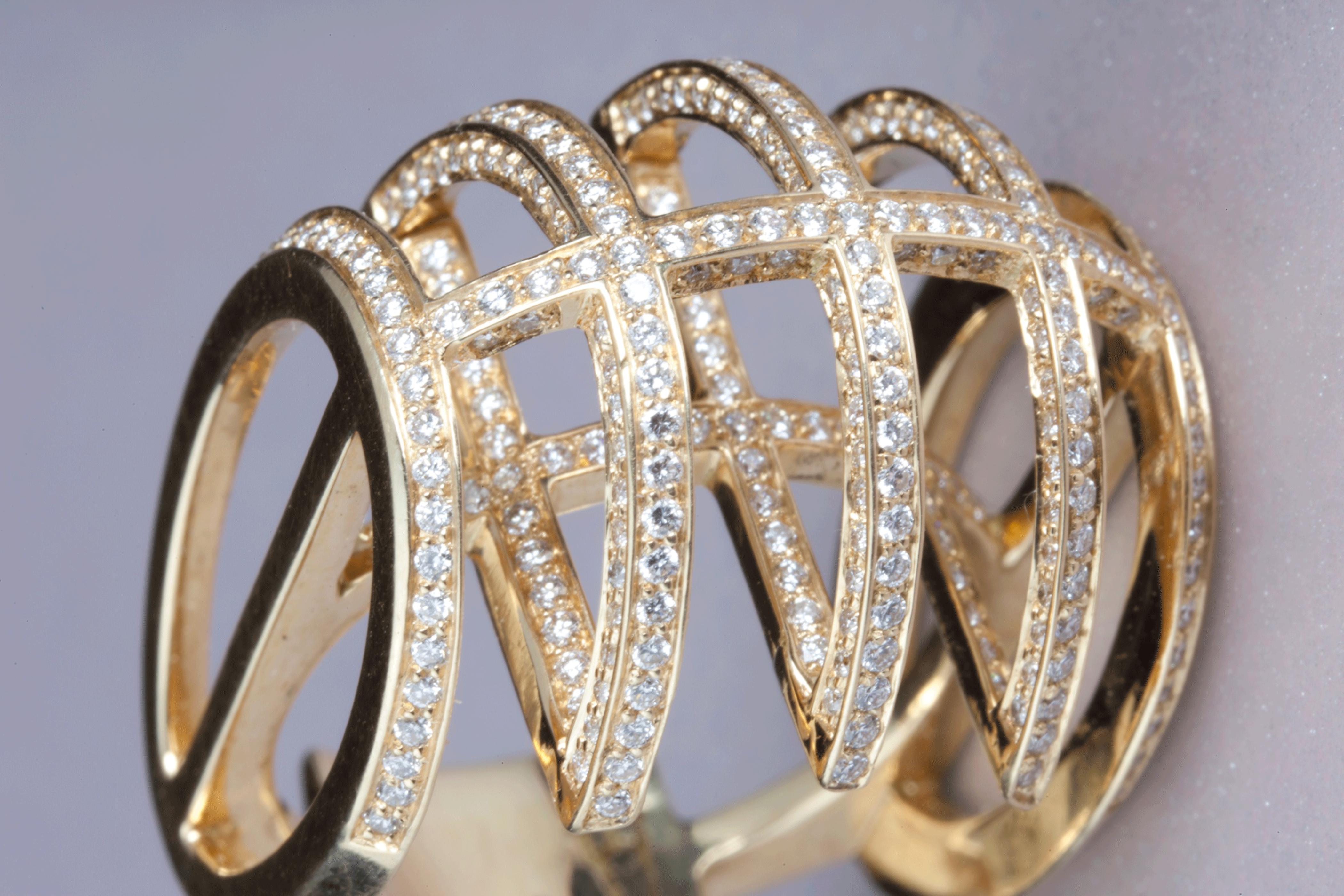 Bague Céleste ornée de diamants
