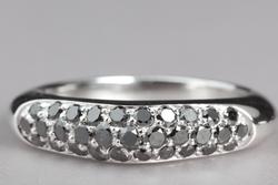 Bague  Trio – Diamants noir