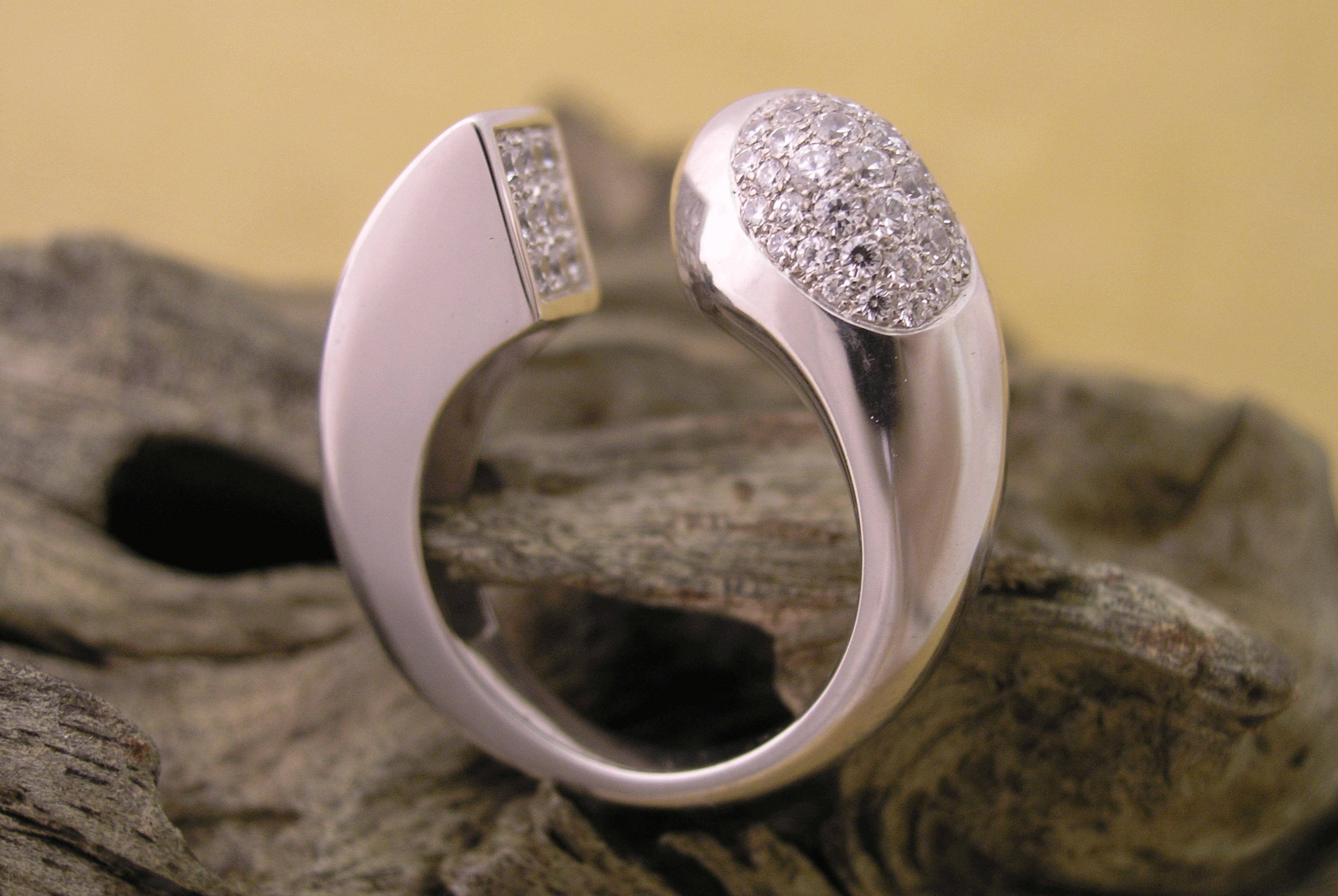 Bague Evolution - Diamants