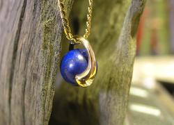 Collier Boule lapis lazulite