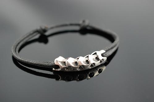 Bracelet cinq vertèbres