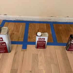 Floor Stain examples