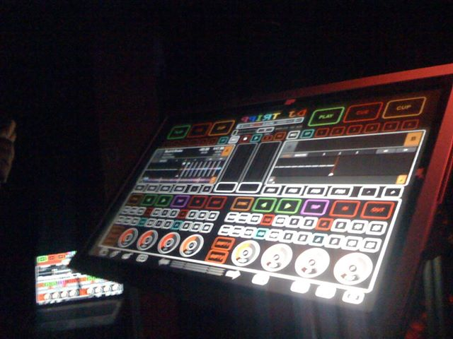 custom touchscreen DJ controller