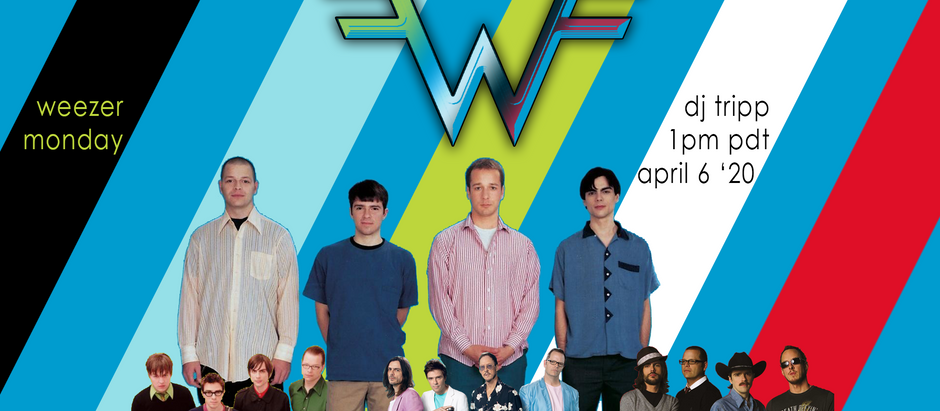Weezer!!! On Twitch!!! April 6th!!!