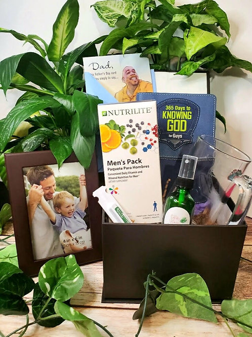 """Man of God"" Wellness Gift Box"