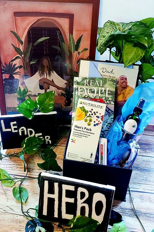 """Provider  """"By any Means"""" Dad's Wellness Gift Box"""