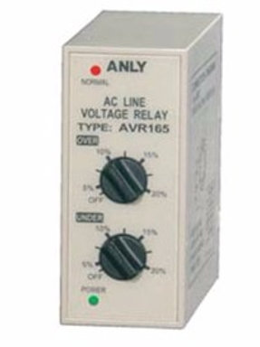 AVR 165 3PHASE AC Line Voltage Relay