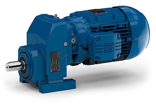 Watt Helical Geared Motor 4 KW/5HP 356 rpm
