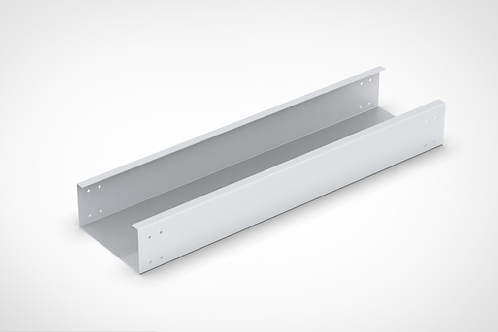 Close type Cable Tray Straight Length with bolted cover
