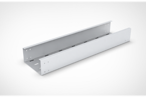 Perforated type Cable Tray Straight Length with bolted cover