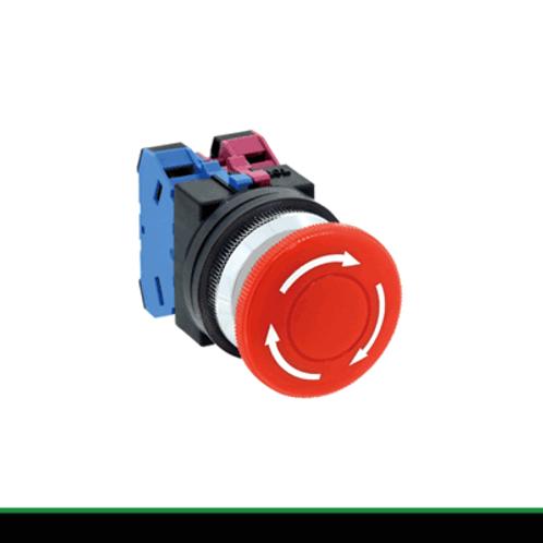 IDEC 30MM TWND Series Pushbuttons Pushlock Turn Reset AVN311NR