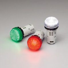 Ultra-bright, sunlight viewable LED indicators