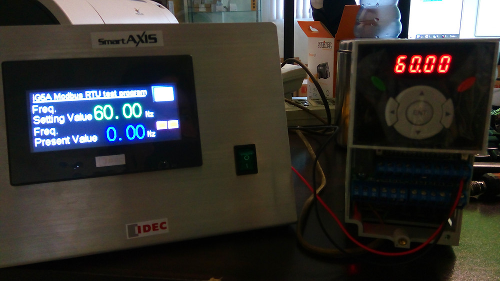 PLC to VFD Communication