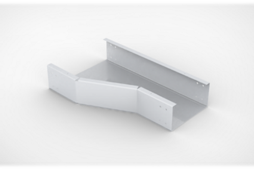 Horizontal Offset Reducer Cable Tray with bolted cover