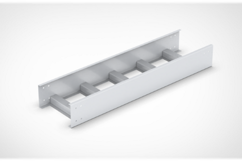 Ladder Type Cable Tray Straight Length with bolted cover