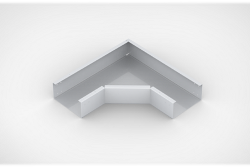 Horizontal Elbow Close type Cable Tray with bolted cover