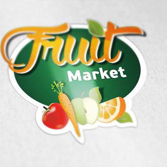Fruit Market Logo