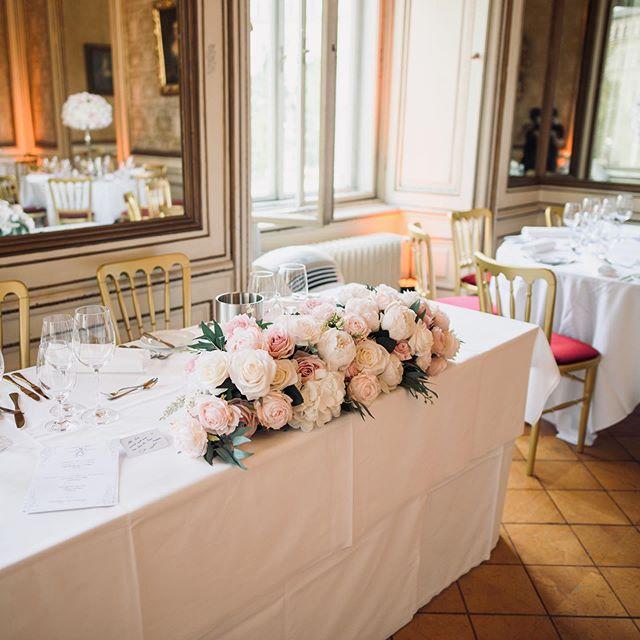 Main table decoration 🌸🌿Wedding decora