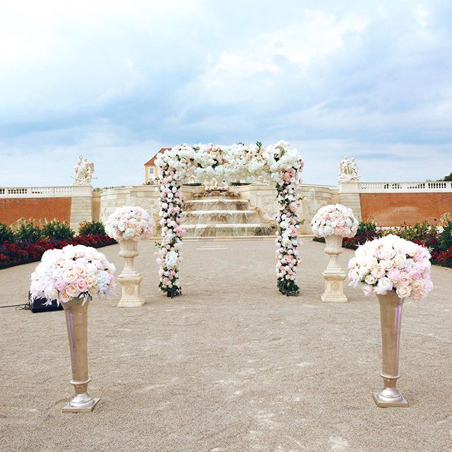 Our beautiful outdoor wedding decoration