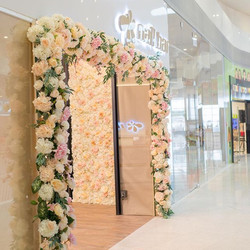 ‼️😆Flower decoration for Soft opening �
