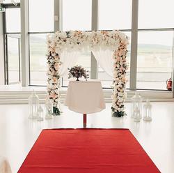 Our elegant indoor wedding decoration 🌸