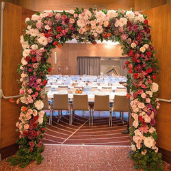 🎉Flower entrance for new year event 🍻�