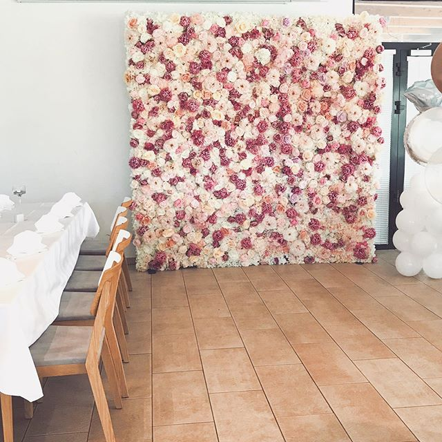 🌸Flower wall for rent by _ellieflorist