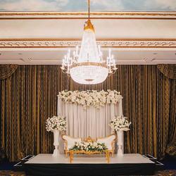 Royal style decoration ⚜️👰🏻🤵🏻Wedding