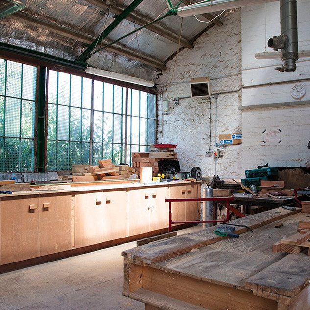 Touchwood Play's main workshop