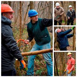 Anna's Training of Woodland Trust Volunt