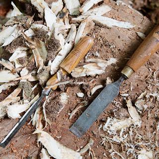 Organic Woodwork tools