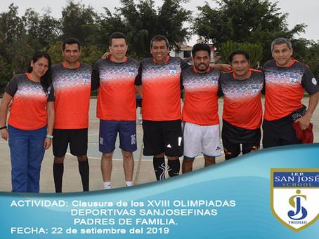 Final de Olimpiadas de Padres de Familia Sanjosefinos - 2019