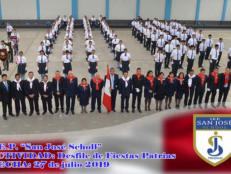 Desfile de Fiestas Patrias - 2019