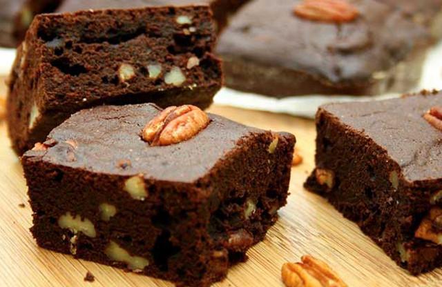 brownie sans beurre ni farine ni sucre